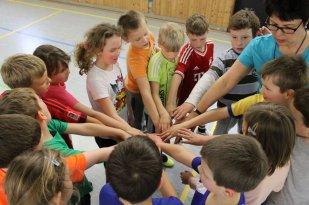 Wir sind eine tolle Schulgemeinschaft und halten zusammen!