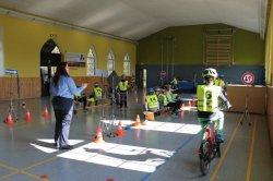 Fahrradprüfung – wir werden fit für den Straßenverkehr gemacht